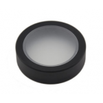Ring with frosted glass filter, 45 mm diameter