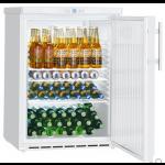 FKUv 1610-22,     Réfrigérateur encastrable sous plan avec froid ventilé, 141L brut, porte pleine à clé, blanc, H = 83cm