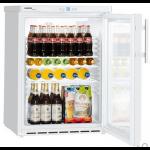 FKUv 1613-22,     Réfrigérateur encastrable sous plan avec froid ventilé, 141L brut, porte vitrée à clé, blanc, H = 83cm