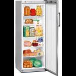 FKvsl 3610-21,     Réfrigérateurs universels – 60 cm de large, 335L brut, porte pleine à clé,  ARGENTE, H = 164cm