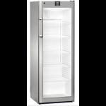 FKvsl 3613-21,     Réfrigérateurs universels – 60 cm de large, 335L brut, porte vitrée à clé, LED, ARGENTE, H = 164cm