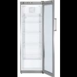 FKvsl 4113-21,     Réfrigérateur Display avec éclairage LED, 365L brut, porte vitrée à clé, LED, ARGENTE, H = 180cm