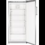 FKvsl 5410-21,     Réfrigérateur universel à froid ventilé avec éclairage LED, PREMIUM, 544L brut, porte pleine à clé, ARGENTE, H = 164cm