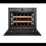 WKEgw 582-20,    Wine cabinet built-in 45cm, 46L net, +/- 18 bouteilles, 1 température, A+, porte vitrée blanche, TipOpen