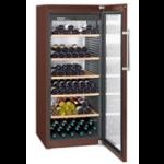 WKt 4552-21,    Wine cellar 435L net, +/- 201 bouteilles, 70cm, H=165cm, A+, terra