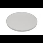 GLASS OBJECT-PLATE, 95 mm diameter