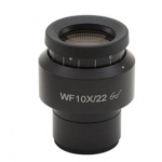 WF 10x/22 micrometric eyepiece, high eyepoint, focusable, ruuber cup