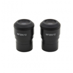 WF 20x/12 eyepieces (pair), focusable, with rubber cup