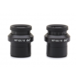 WF15x/16 eyepieces (pair), high eyepoint, focusable, with rubber cup