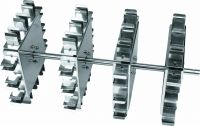 Rotisserie accessory,for 15ml x 24 centrifuge tubes held horizontally, use with MX-RL-Pro catalog number 18900143