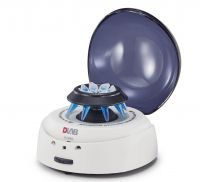 D1008,  EZeeMini Centrifuge with BLUE LID, including two rotors A08-2 & A02-PCR8 and both adapter SA02P2&SA05P2 (package contained in the box), 9031001012