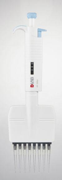 50-300μl  MicroPette Plus, Eight-channel Adjustable Volume, Mechanical Autoclavable Pipette, 7030303012