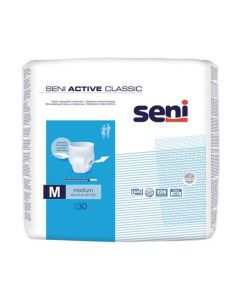 SENI Pants Active Classic, Size Medium, 30/pack